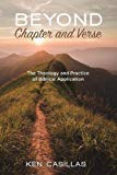 Image for Beyond Chapter and Verse: The Theology and Practice of Biblical Application